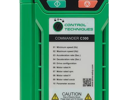 Commander C300 380V 2.2kW