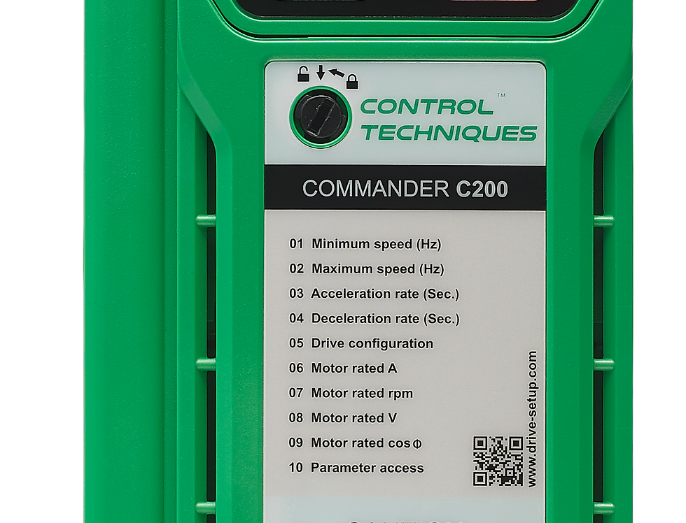 Commander C200 380V 4kW