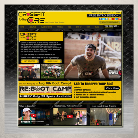 Crossfit to the Core Website