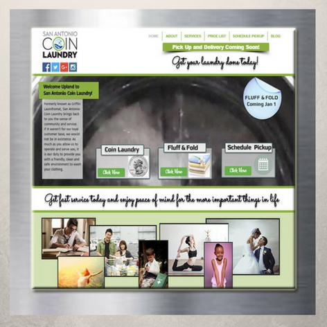 San Antonio Coin Laundry Website
