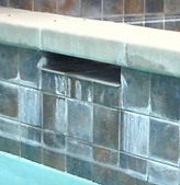 Pool Tile Calcium Removal