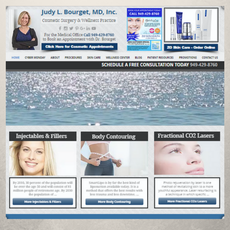 Dr. Judy Bourget Website