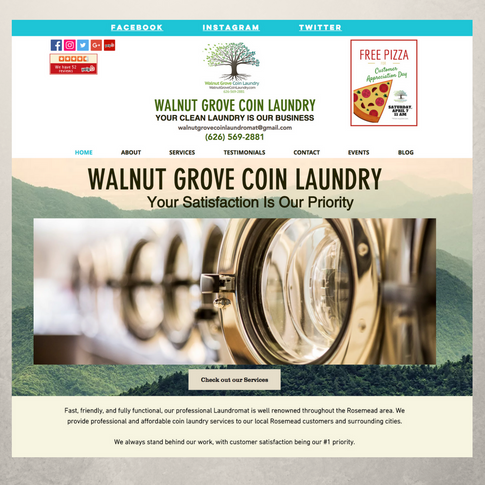 Walnut Grove Coin Laundry
