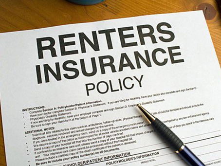 Why Renter's Insurance?