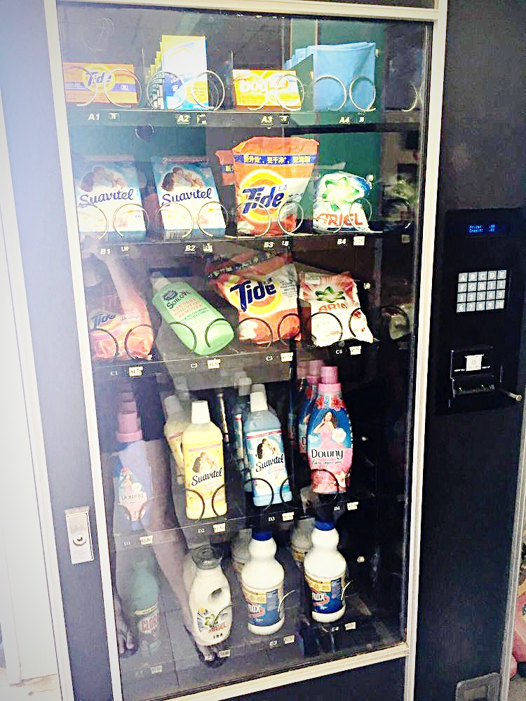 Vending Machine at laundromat