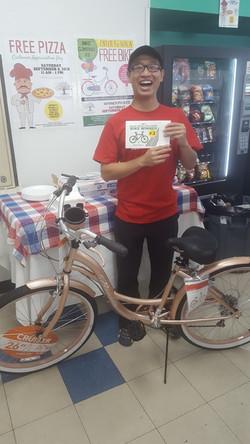 Walnut Grove Coin Laundry Bike Winne