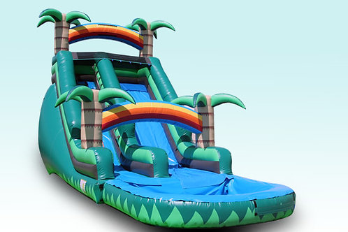 18 Foot Rainforest Paradise Water Slide