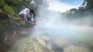 EL EXTRAÑO RÍO HIRVIENTE QUE FLUYE EN LA AMAZONÍA PERUANA