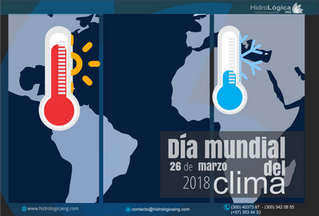 Día mundial del clima  26 de marzo de 2018
