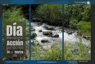 Día internacional acción por los ríos. 14 de marzo de 2018