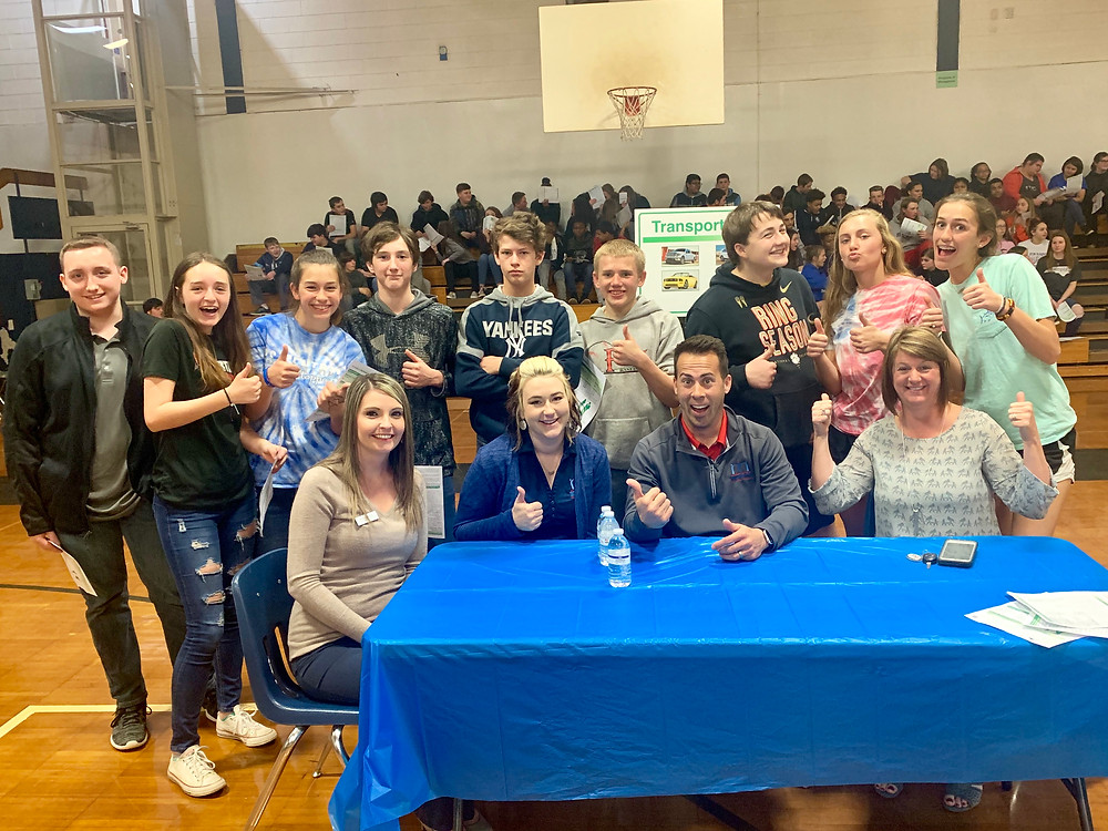 R-S Middle School students participated in Reality of Money