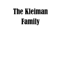 The Kleikman Family-page-001