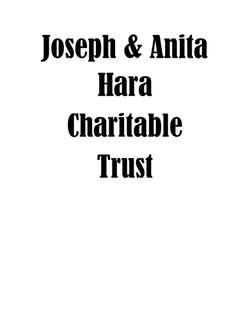 Joseph and Anita Hara Charitable Trust-p