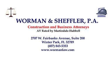 Worman, Sheffler Law Firm Pavilion Pathw