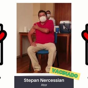 Vídeo para entidades: Stepan Nercessian, Ator
