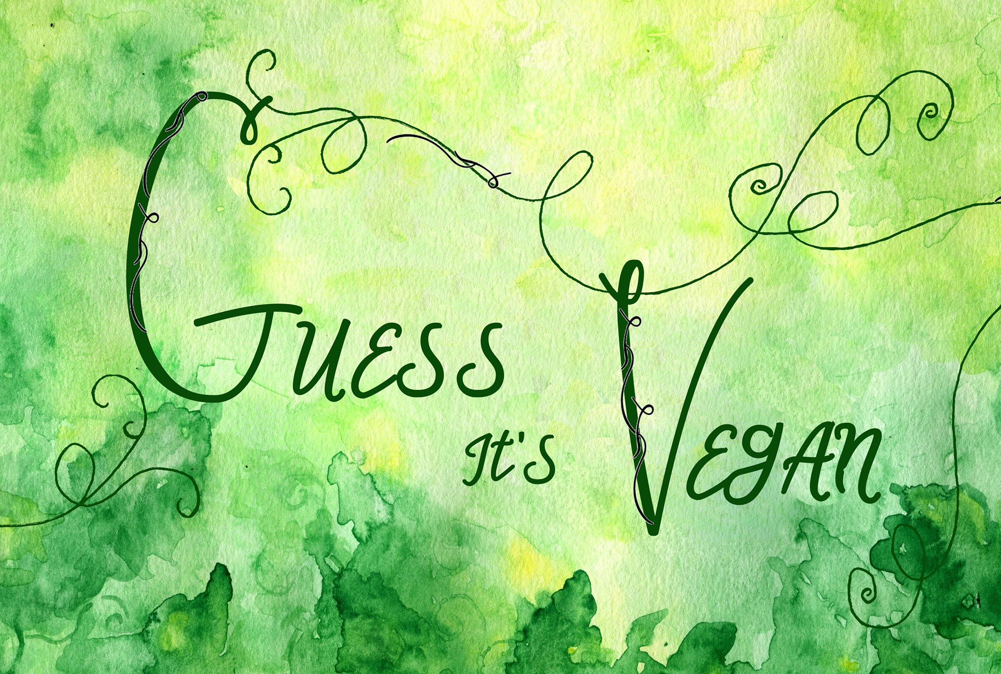 Guess It's Vegan Logo
