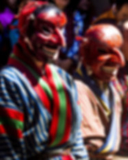 Bhutan Fall Festival Bhutanese Men in Ma