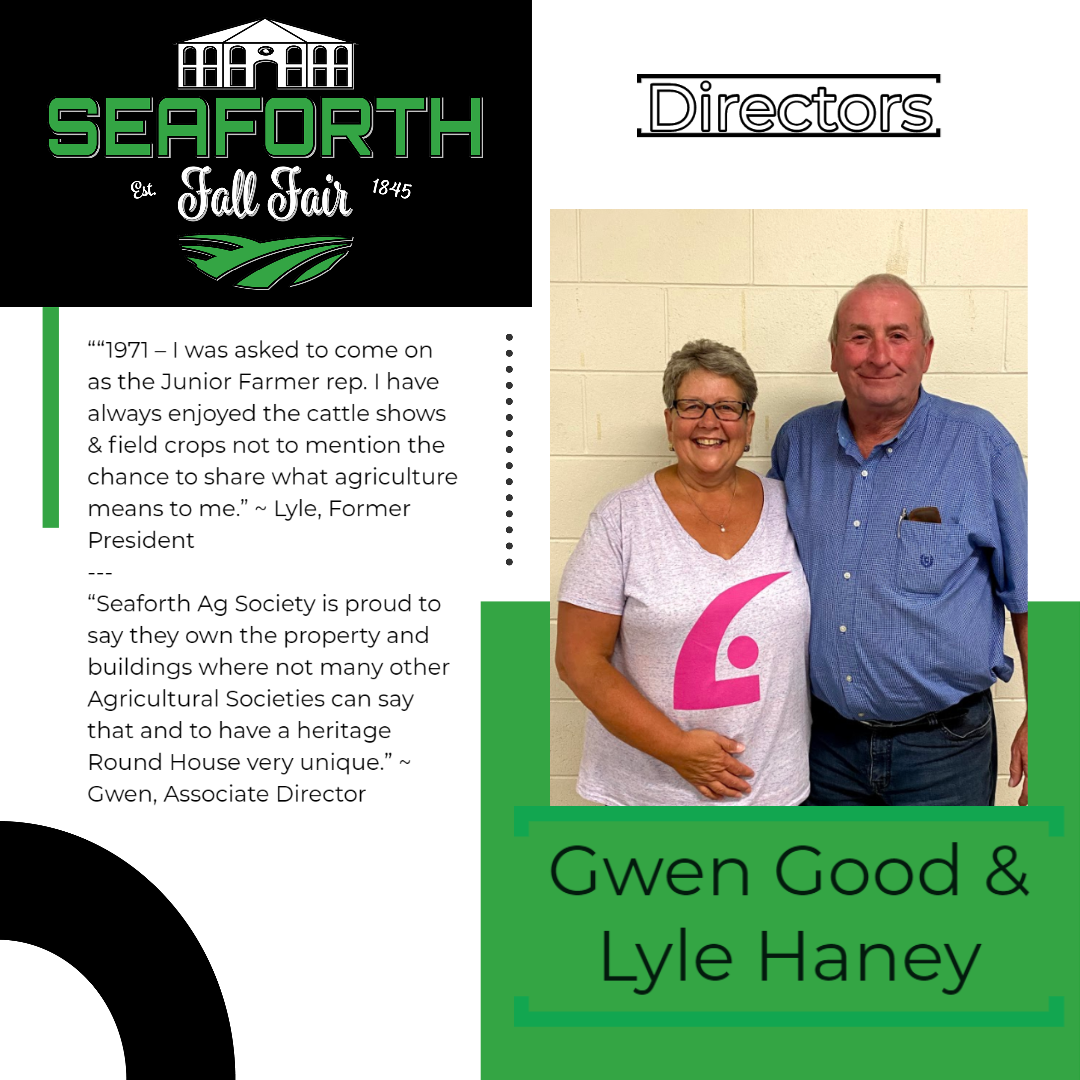 Gwen Good & Lyle Haney Directors