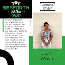 Joan Whyte Prade Director