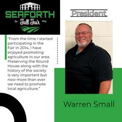 Warren Small President1