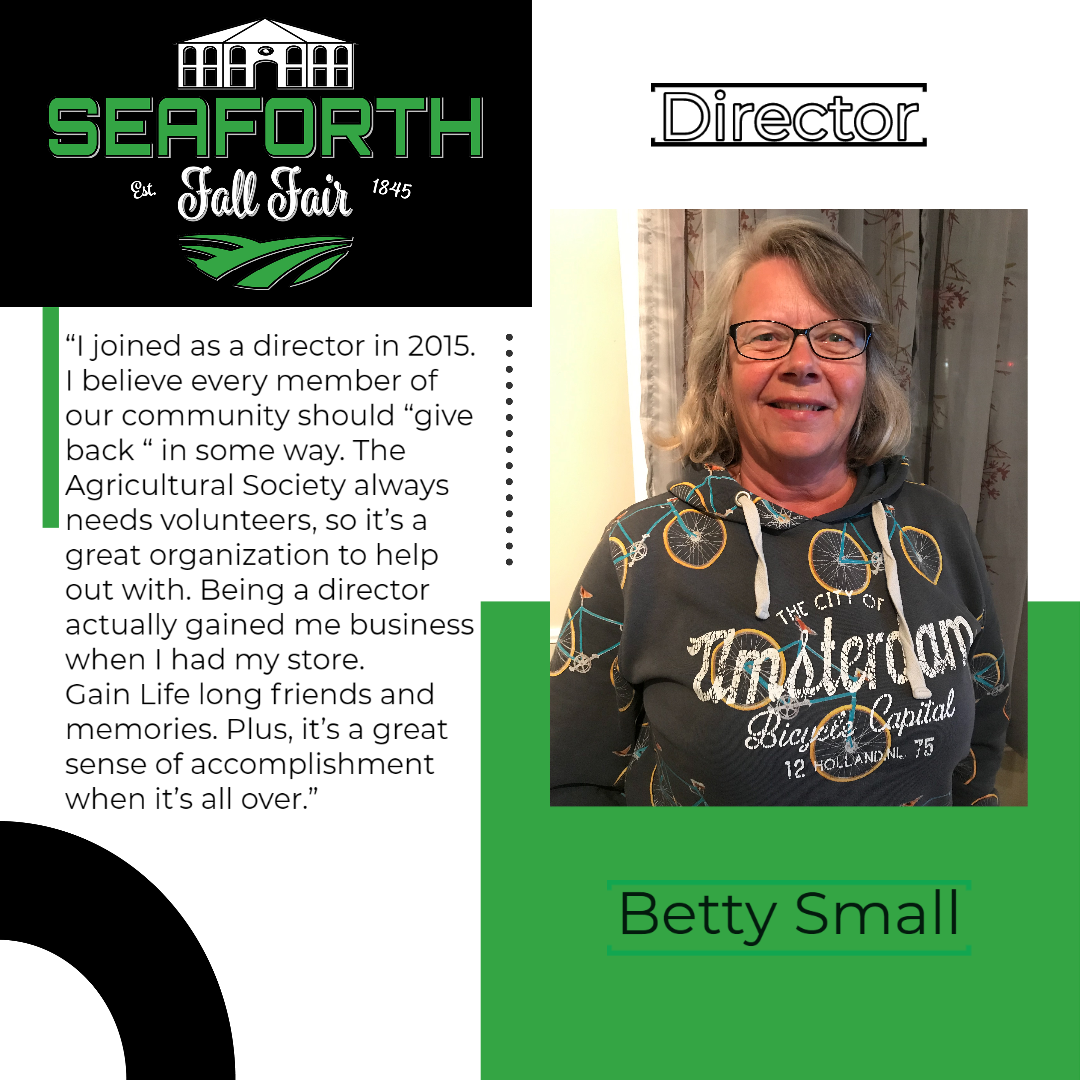 Betty Small Director