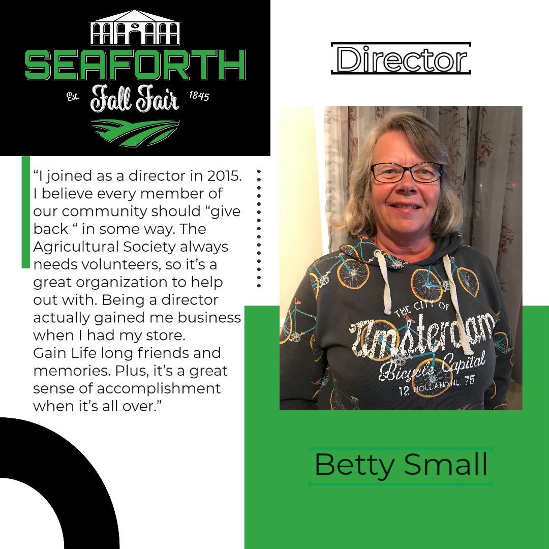 Betty Small Director