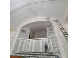 Commercial church painting job_church_be