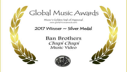 BanBrothersCertificateOne101317_Silver-for-MusicVideo-ChupiChupi.jpg