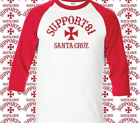 Support 81 T-Shirt, Raglan 3/4 Sleeve
