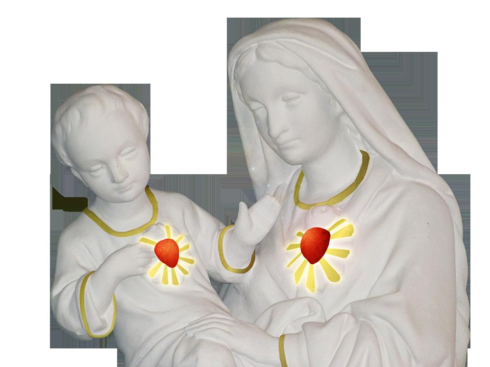 Jesús y María: Un solo Corazón