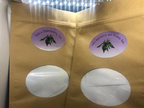 Veli's Elderberry and Mullein Tea Combo