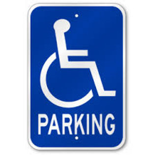 Parking Sign - Handicap Only