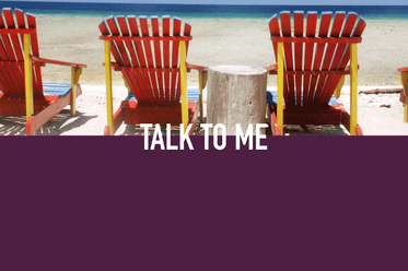 Blog post - Talk to me