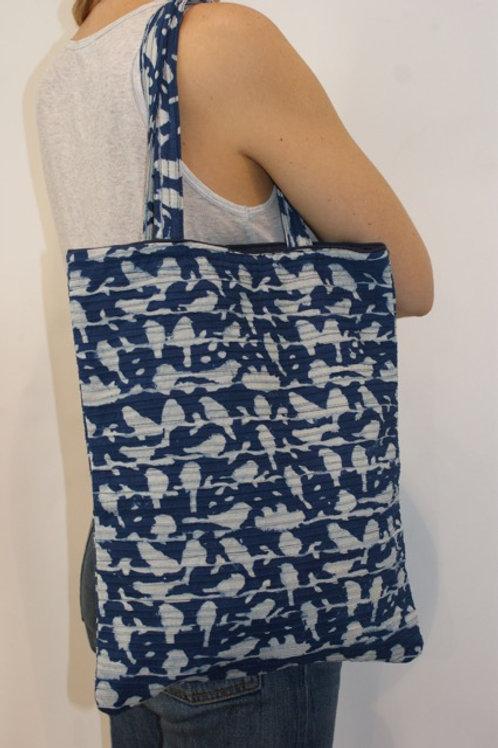 Tote bag small Blue