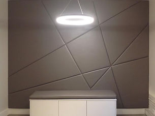 square panels for unique kitchen