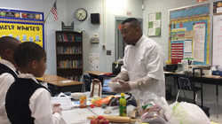 Founder training in culinary arts