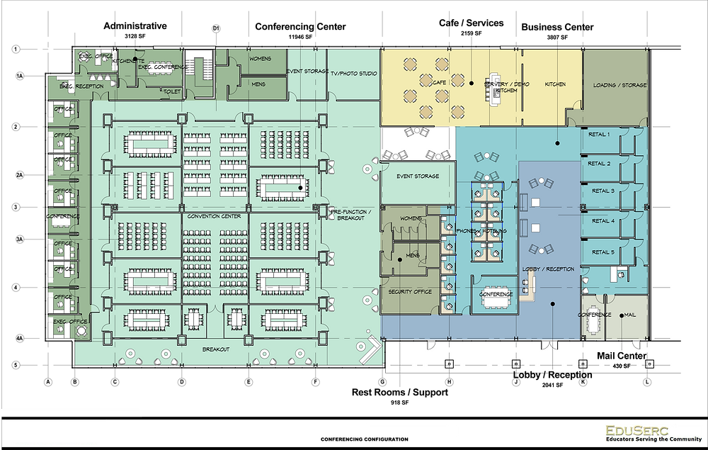 E-Convention Center Floor Layout