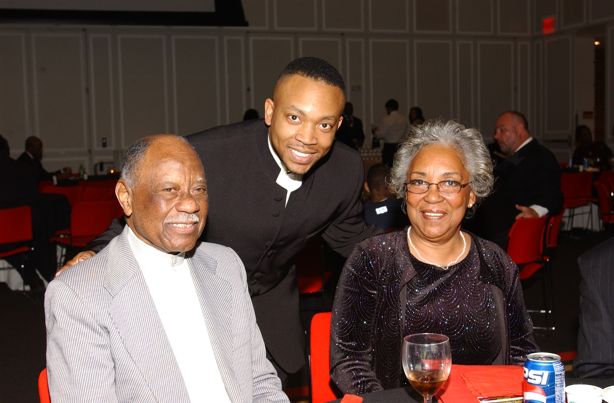 Brian, Grand Dad and Mom