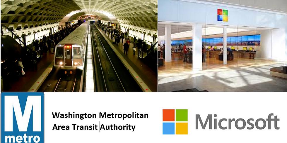 IPLD Prince George's Trip - WMATA (Metro) / Microsoft (Transportation/Video Game Design)