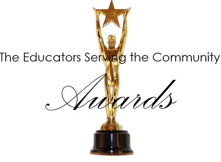 Coming May 5, 2018 - The Educators Serving the Community Awards at the Warner Theatre in Washington
