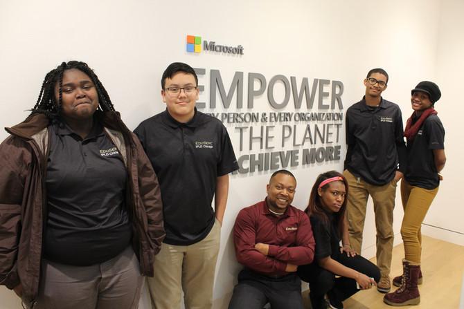 EduSerc and Microsoft Provide Formal Entrepreneurship Training to Students in Chicago