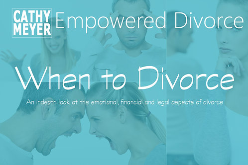 When to Divorce: A Look at the Emotional, Financial, and Legal Aspects