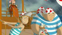 Pöttyöskapitány - A hajótörött