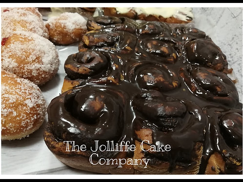 12  Chocolate Rolls-LOCAL DELIVERY/COLLECTION