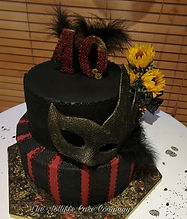 Steam Punk masquerade cake