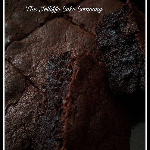Classic Chocolate Brownies-Letterbox Bakes