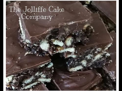Classic Chocolate Tiffin -Letterbox Box bake