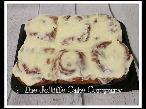 6 Jumbo Cinnamon Rolls-Local Delivery/Collection only