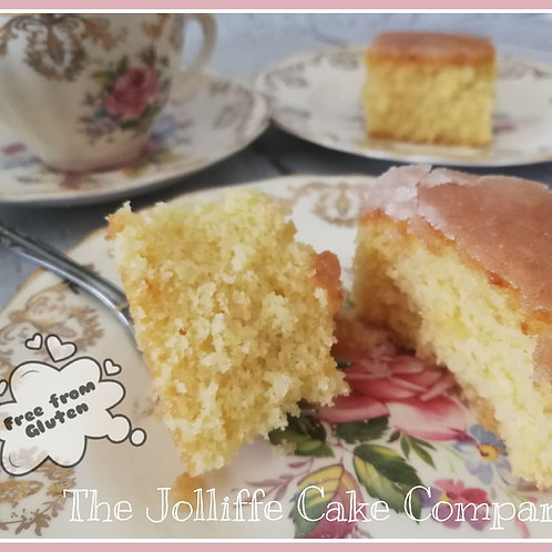 Free From Gluten Lemon Drizzle-Letterbox Bakes