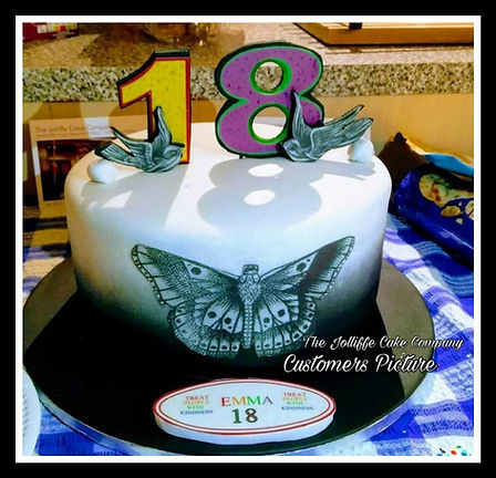 Harry Styles Inspired Cake